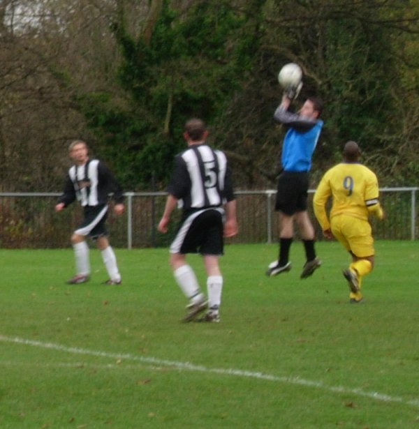 Action from Chipping Sodbury Town V Slimbridge