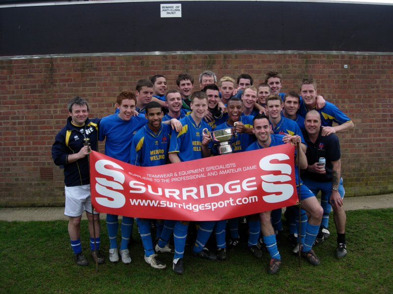 Hardwicke AFC - Surridge Gloucestershire County Foootball League Champions 2007-08
