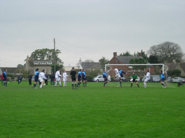 Action from Kings Stanley V Yate Town Reserves
