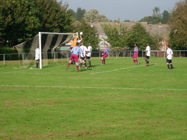 Action from Patchway Town V Tuffley Rovers