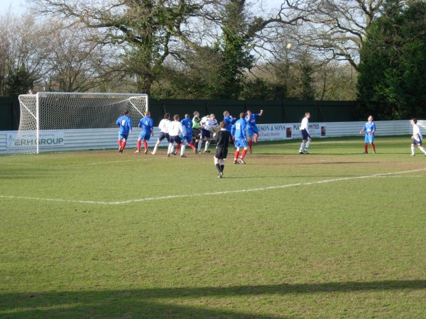 Action from Yate Town Reserves V Slimbridge