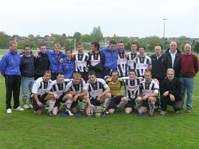 Lydney Town League Champions 2005-06