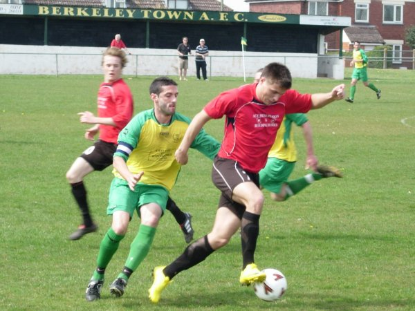 Action from Berkeley Town V Thornbury Town