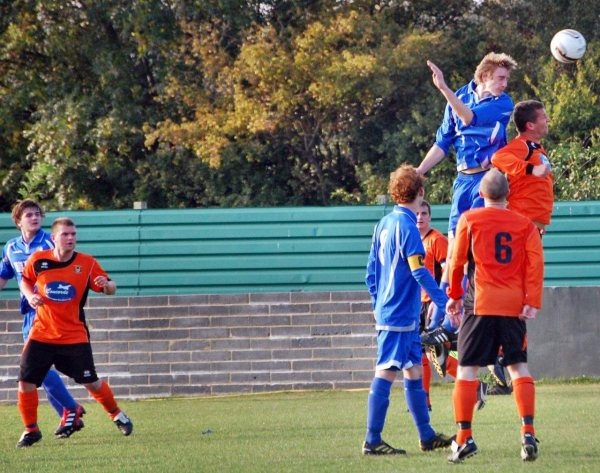 Action from Bishops Cleeve Reserves V Henbury