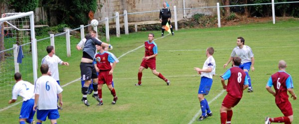 Action from Brimscombe & Thrupp V D.R.G. Stapleton