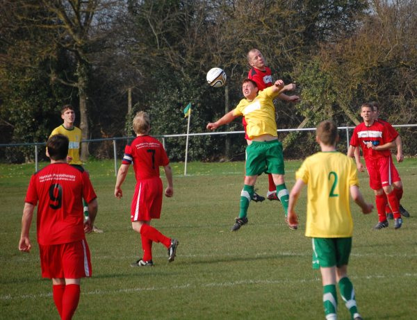 Action from Berkeley Town V Cribbs Friends Life