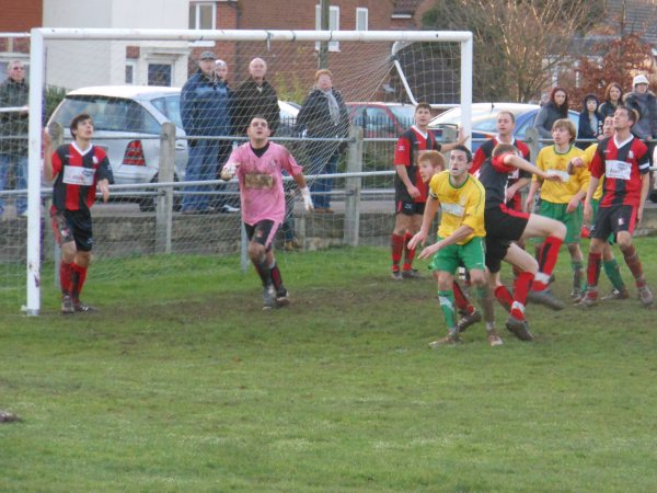 Action from Berkeley Town V Longlevens