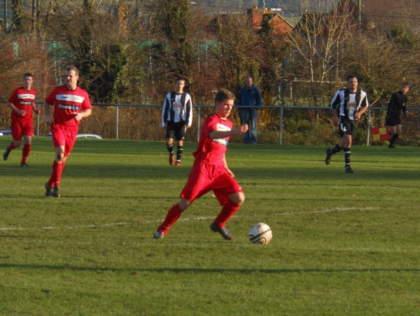 Action from Chipping Sodbury Town V Cribbs Friends Life