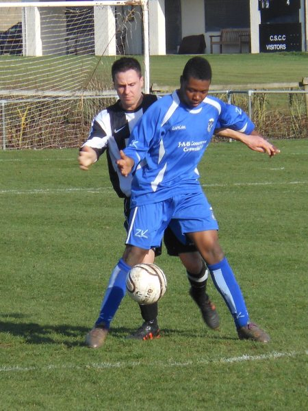 Action from Chipping Sodbury Town V Kingswood