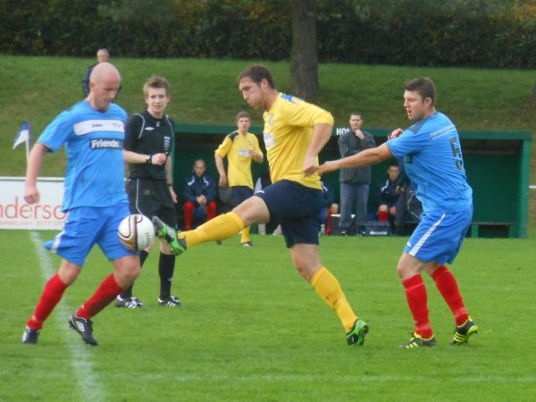 Action from Cribbs Friends Life V Bishops Cleeve Reserves