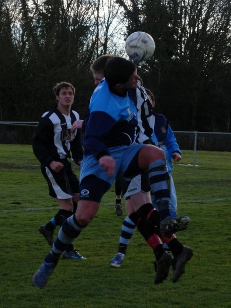 Action from Chipping Sodbury Town V Kings Stanley