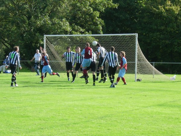 Action from Chipping Sodbury Town V Tuffley Rovers