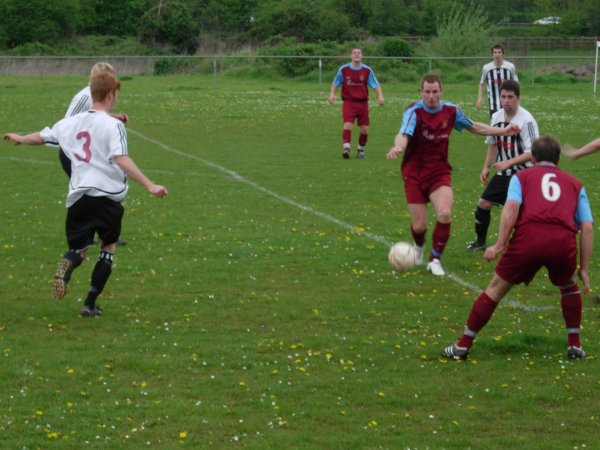Action from D.R.G. Stapleton V Patchway Town