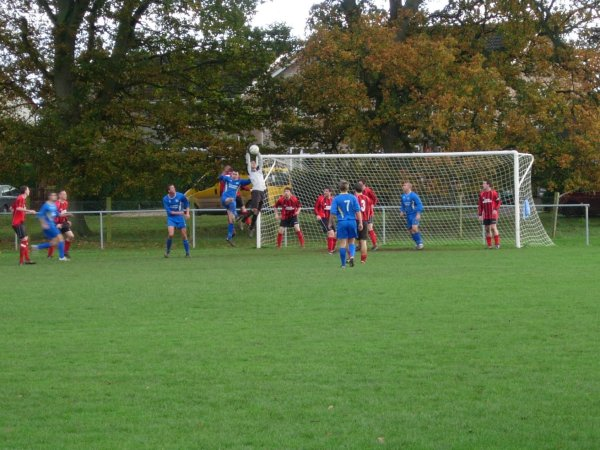 Action from Ellwood v Kings Stanley