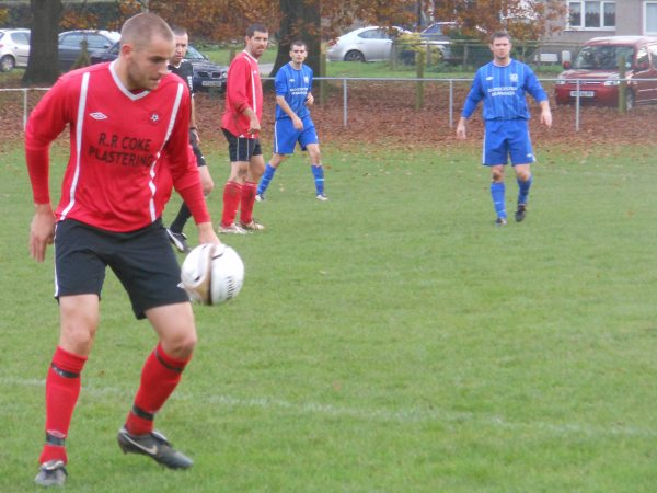 Action from Ellwood V Rockleaze Rangers
