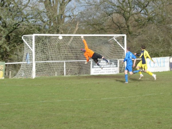 Action from Ellwood V Yate Town Reserves