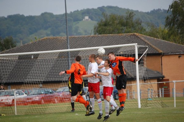 Action from Henbury v Thornbury Town