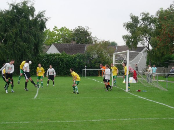 Action from Hanham Athletic V Berkeley Town