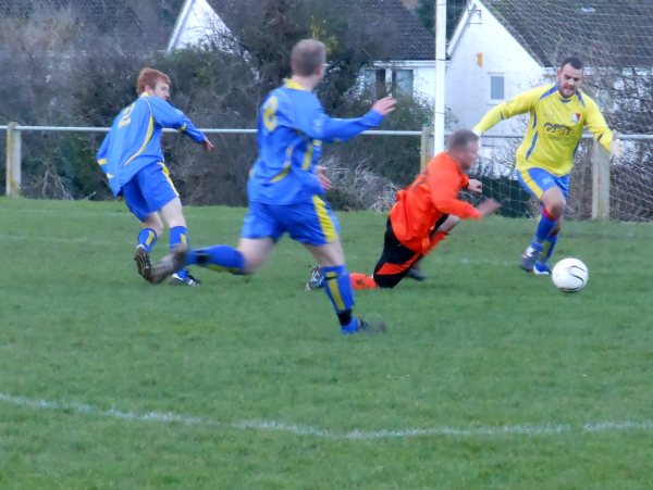 Action from Henbury V Longlevens