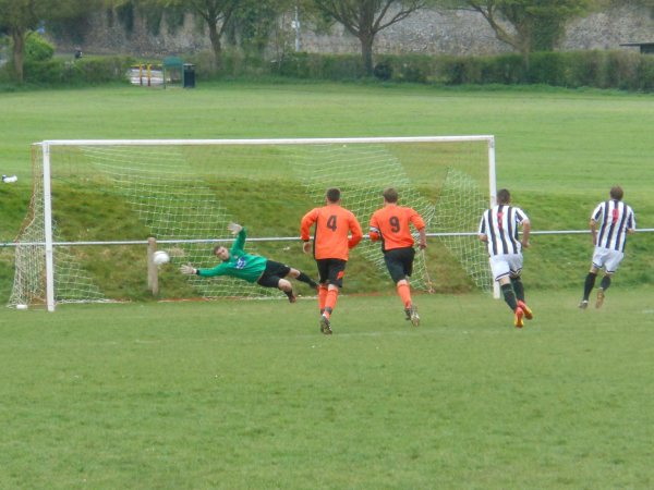 Action from Henbury V Patchway Town