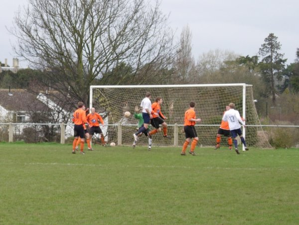 Action from Henbury V Yate Town Reserves