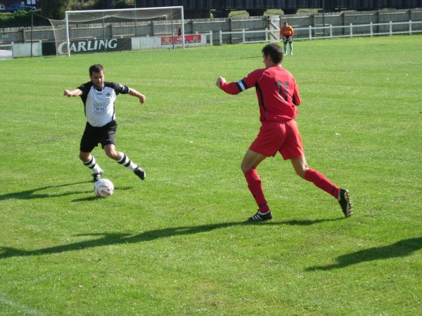 Action from Highridge United V Kingswood