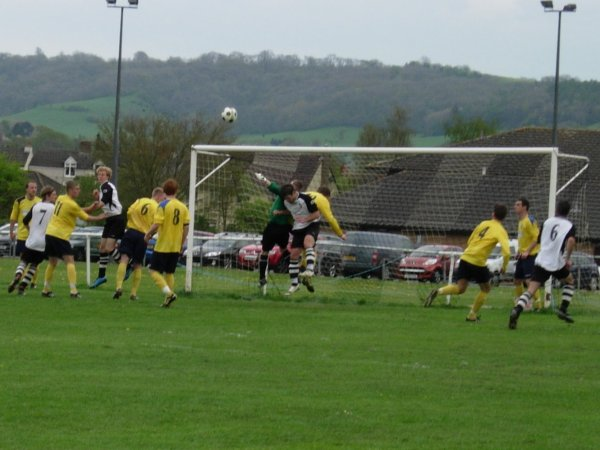 Action from Kingswood v Bishops Cleeve Reserves