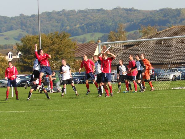 Action from Kingswood V Rockleaze Rangers