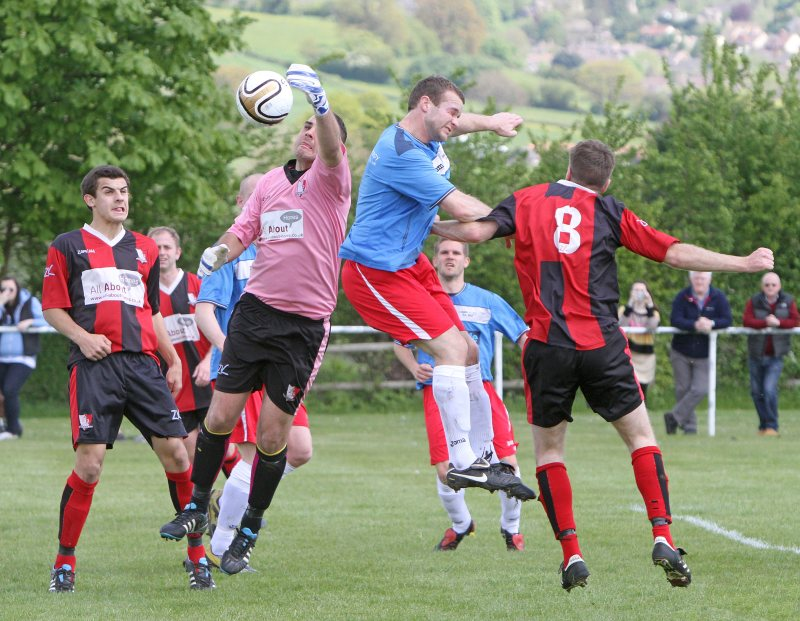 Action from League Cup Final