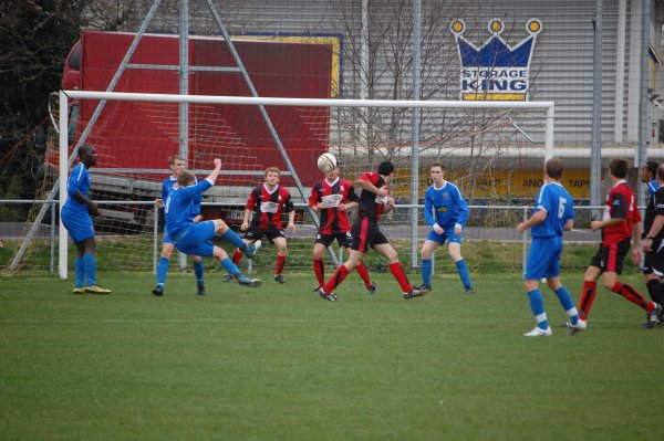 Action from Longlevens V Bristol Academy