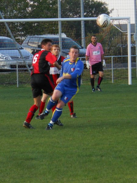Action from Longlevens V Chipping Sodbury Town