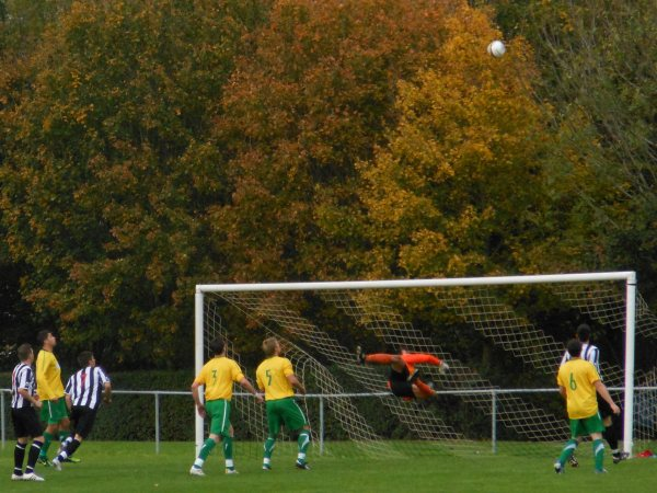 Action from Patchway Town V Berkeley Town