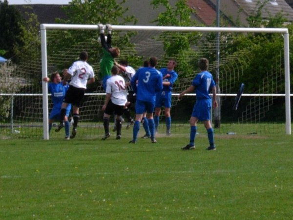 Action from Patchway Town V Ellwood