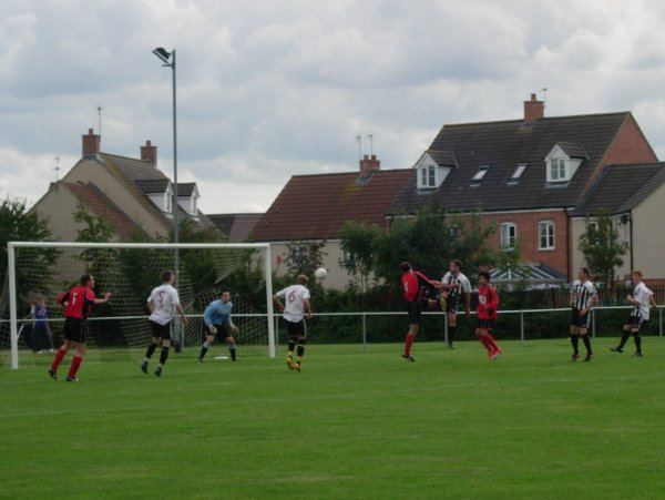 Action from Patchway Town v Rockleaze Rangers