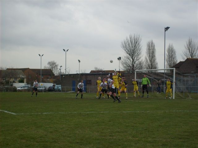 Action from Patchway Town V Yate Town Reserves
