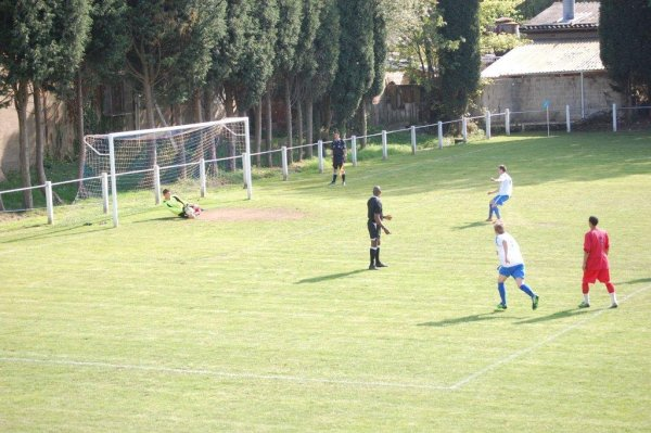 Fletcher saves the first Brimscombe penalty