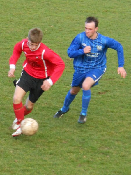 Action from Rockleaze Rangers V Ellwood