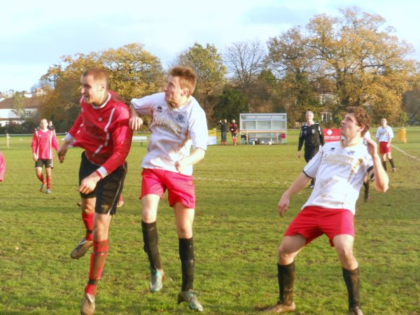 Action from Rockleaze Rangers V Thornbury Town