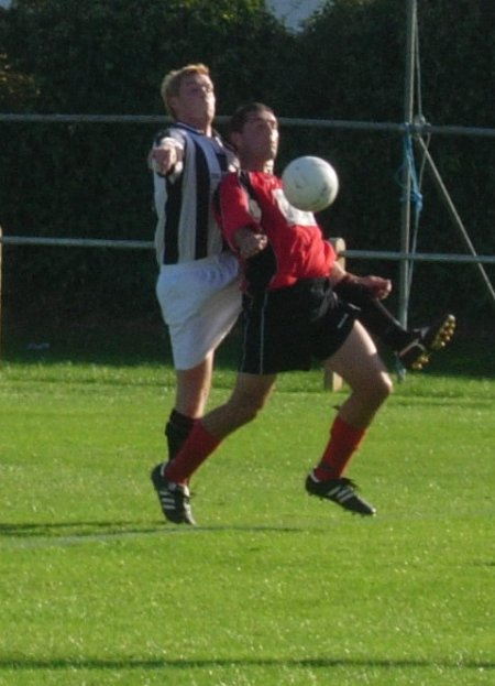 Action from Rockleaze Avonside V Thornbury Town