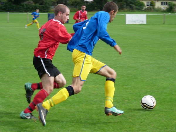 Action from Rockleaze Rangers V Yate Town Reserves