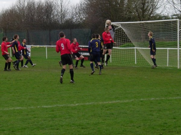 Action from Thornbury Town V Highridge United