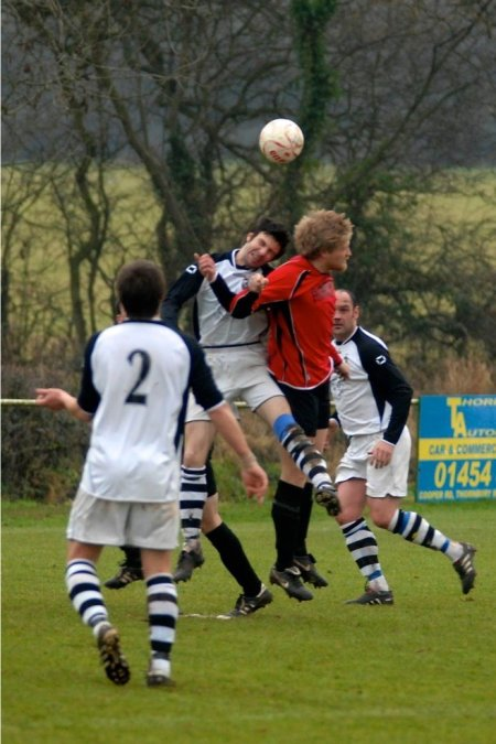 Action from Thornbury V Kingswood
