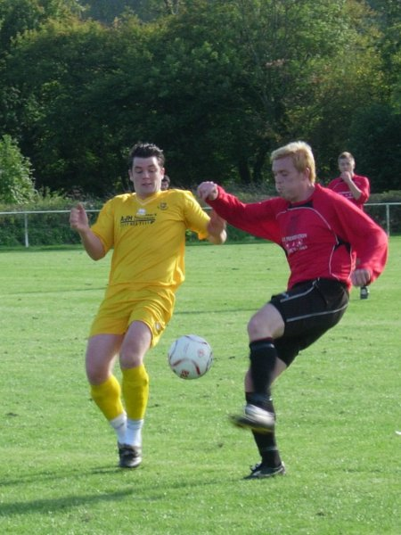 Action from Thornbury Town v Yate Town Reserves