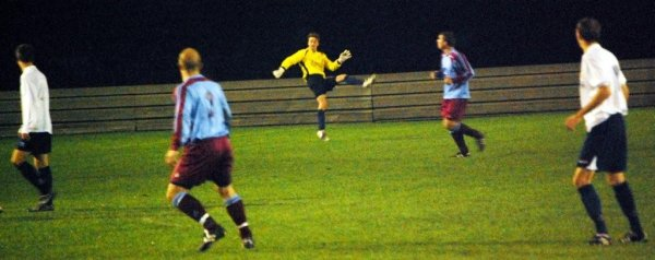 Action from Tuffley Rovers V Yate Town Reserves