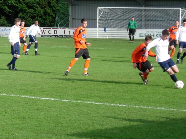 Action from Yate Town Reserves v Henbury