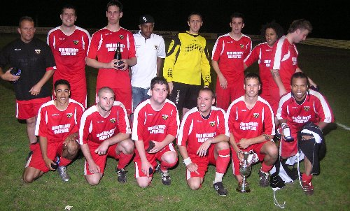 Patchway Town.  Les James League Cup Winners 2006-07